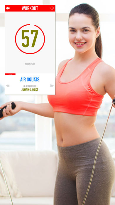 Daily Burn Program - Video Workouts Apps for iPhone/iPad screenshot