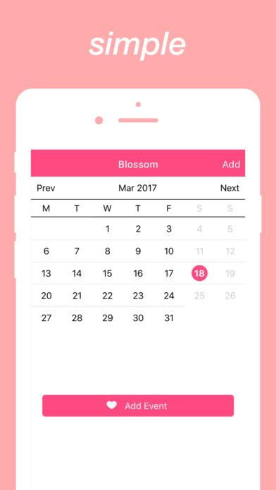 Screenshot #3 for Blossom : Calculate Loving Days