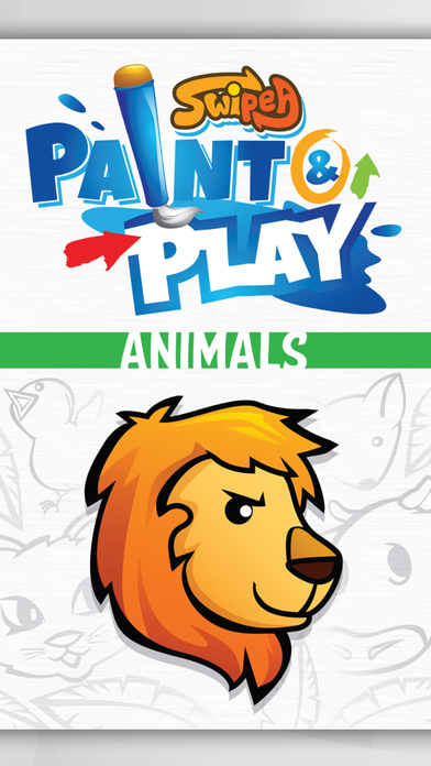 Paint & Play Animal Planet, Coloring Book For Kids iPhone Screenshot 5