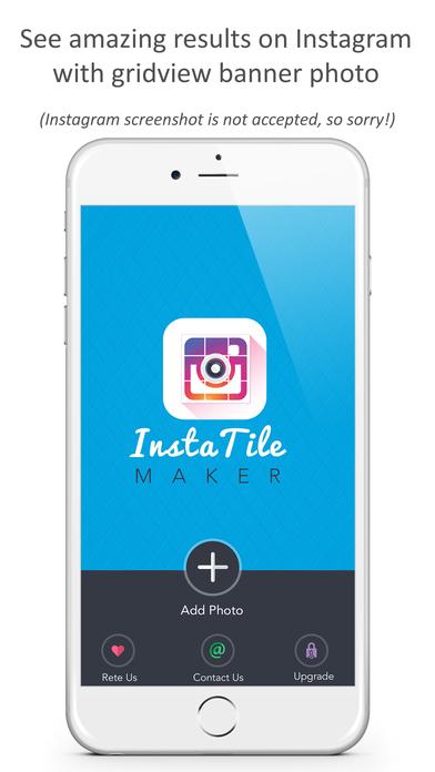 Insta Tile Maker: Instagrids & Effects Instabanner Screenshot 4