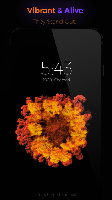 Ink - Live Wallpapers For iPhone 6s & 6s Plus Screenshots