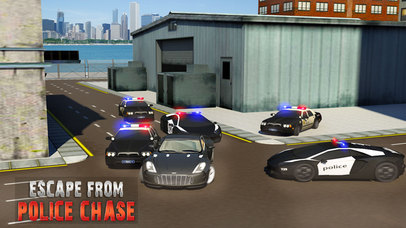 Escape Police Car Chase Game: PRO screenshot 2