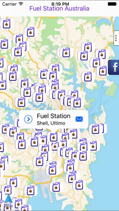 Fuel Station Australia iPhone Screenshot 1