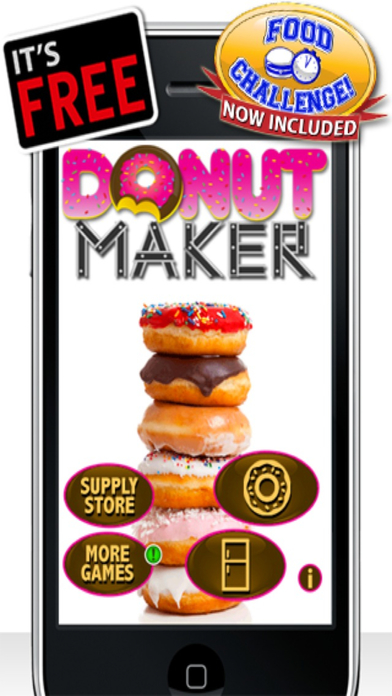 Donut Maker iPhone Screenshot 1