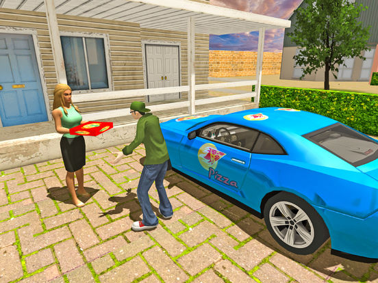 Delivering Pizza Games Car