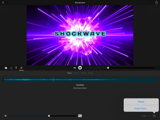 how to make a intro with imovie