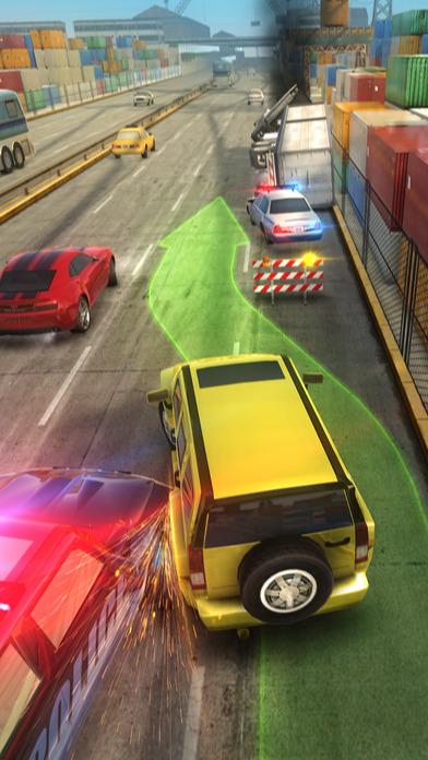 Погоня на трассе: канал Преследование Скриншоты5