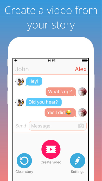 Textingstory Write Chat Stories Save As Video Free