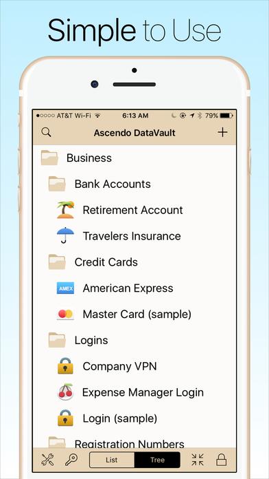 Screenshot #8 for Password Manager Data Vault - Safe, Secure, Wallet