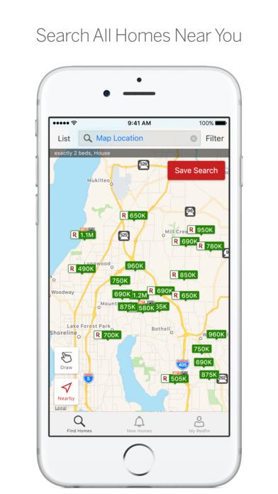 Redfin Real Estate iPhone Screenshot 1