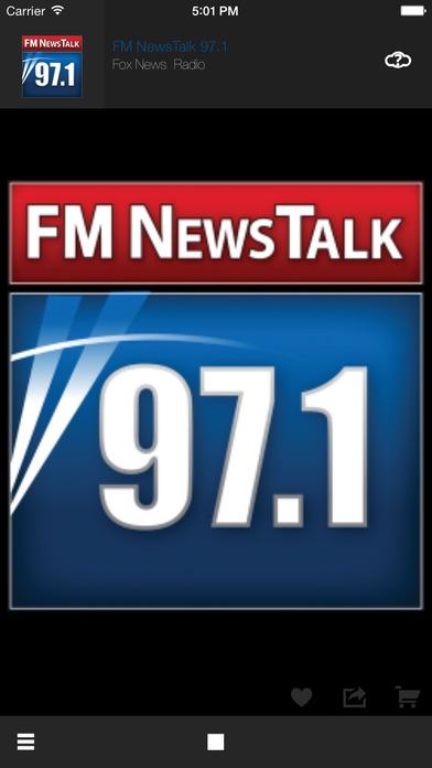 FM NewsTalk 97.1 iPhone Screenshot 1