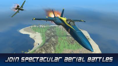 F18 Carrier Airplane Flight Simulator screenshot 1