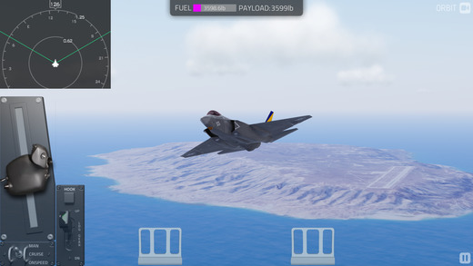Carrier Landing - Aircraft Flight Simulator Screenshots
