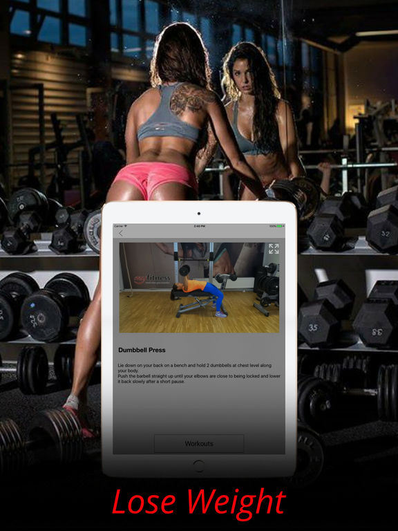 Dumbbell Exercises & Body Muscle Workouts Routine Screenshots
