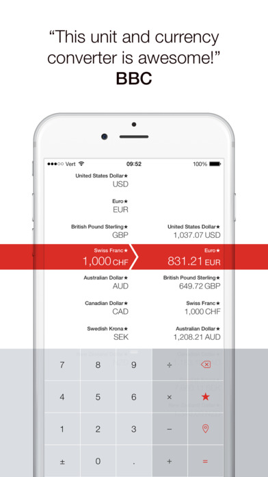 Vert - Конвертер единиц и валют Screenshot