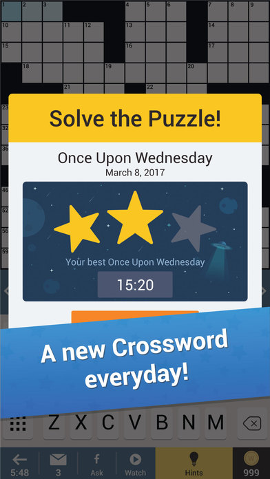 Daily Themed Crossword Puzzle screenshot 2