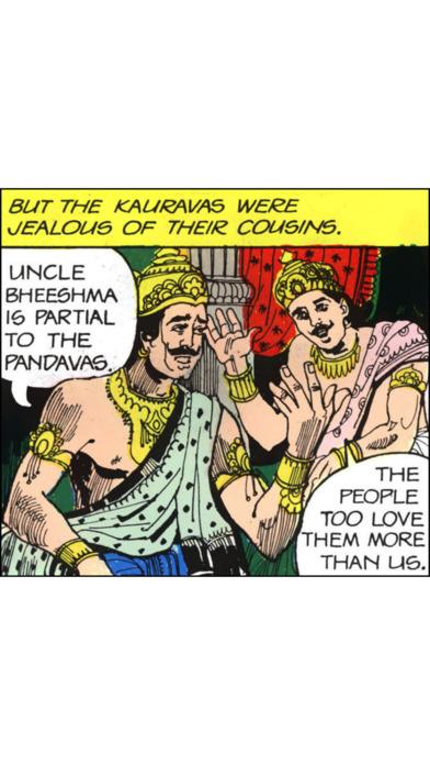 Ghatotkacha - The Story Of Son Of Bheema - Amar Chitrakatha Comics iPhone Screenshot 3