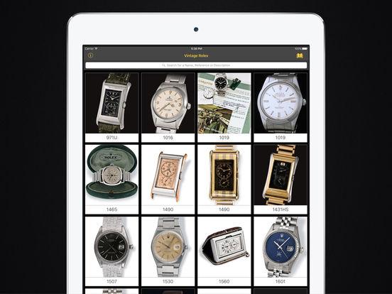 Vintage Rolex HD iPad Screenshot 1