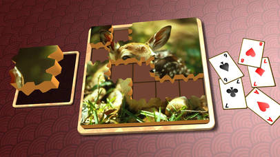 Jigsaw Solitaire Baby Animals screenshot 3