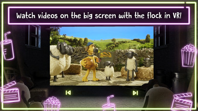 Shaun the Sheep - Movie Barn VR screenshot for iPhone