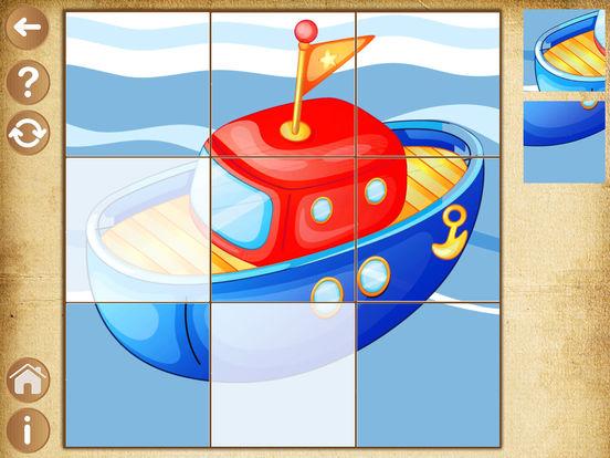 Детские игры для мальчиков Пазлы для малышей детей Скриншоты5