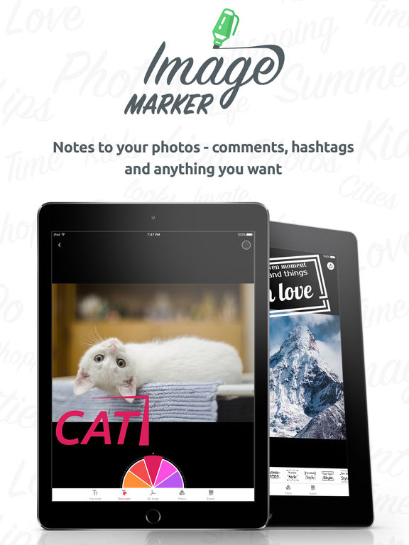 Image Marker Pro - Photo Text Editor Screenshots