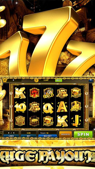 Screenshot 1 Golden 7's Jackpot slots – City of secret chest