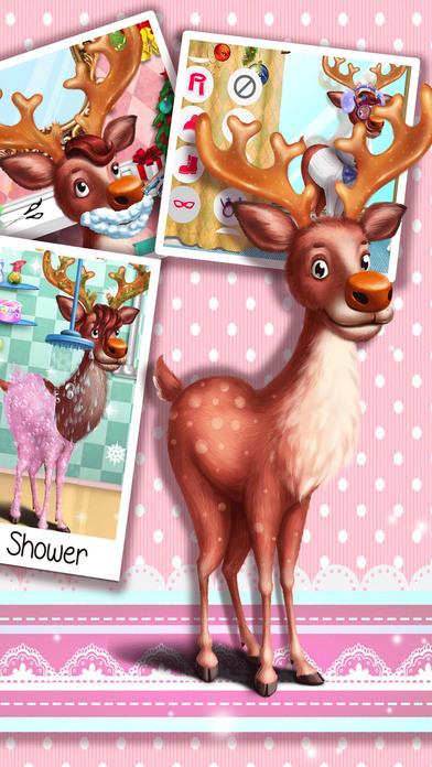 Screenshot 2 Animal Hair Salon for Christmas2017:BabyGames