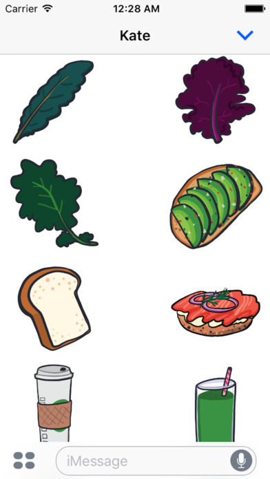 Screenshot for Foodlife Stickers in United States App Store