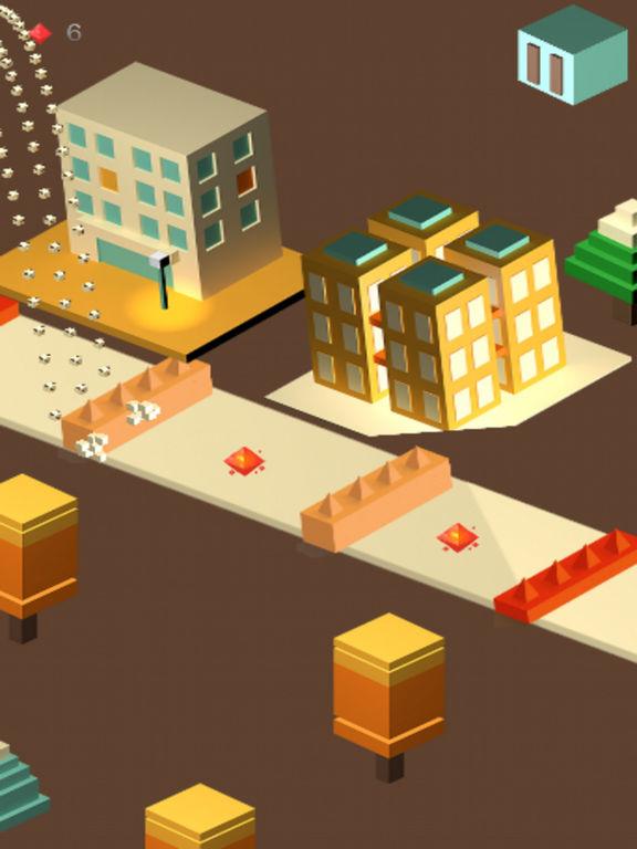 Mini Cubic Bear City Charger screenshot 4