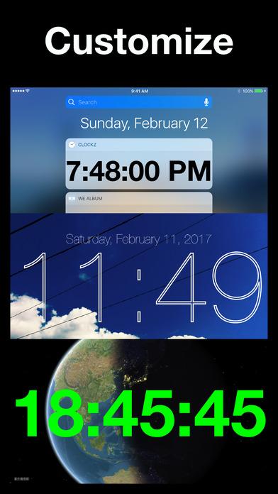 ClockZ iPhone Screenshot 5