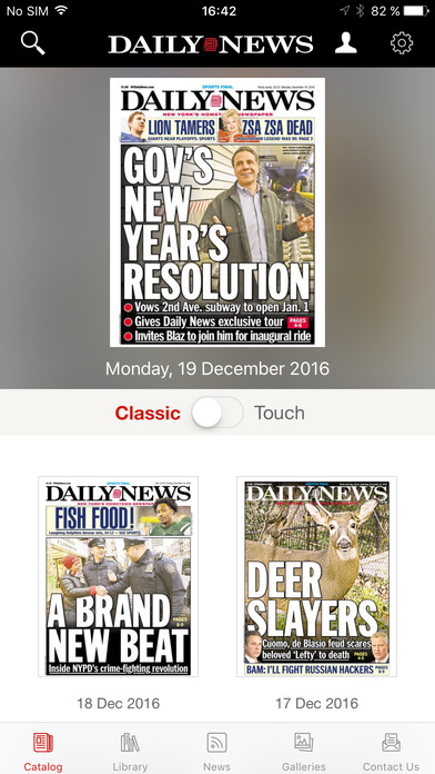 Daily News - Digital Edition app image