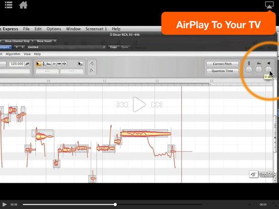 MPV's Melodyne 101 Tutorials iPad Screenshot 3