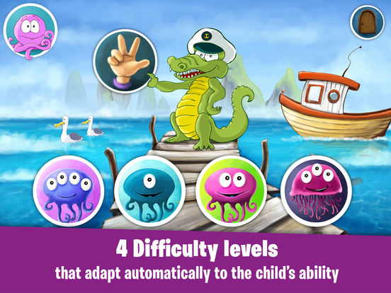James' amazing adventures: learning games for kids iPad Screenshot 2