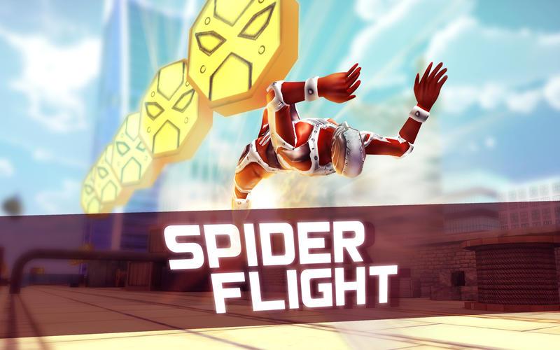 蜘蛛飞行2---跑酷跑3D