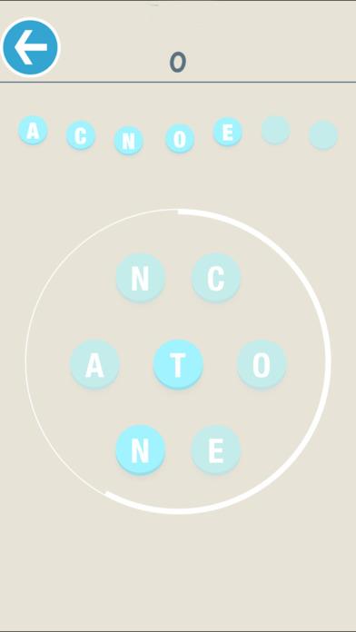 Shuffled Word Board Puzzle Pro screenshot 2