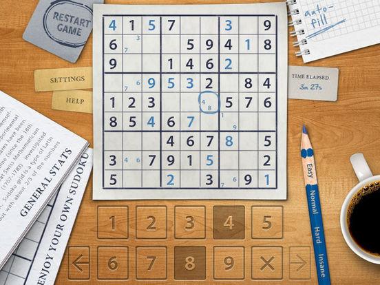 Sudoku HD for iPad iPad Screenshot 3