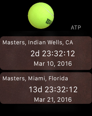 Tennis Matches iPhone Screenshot 10