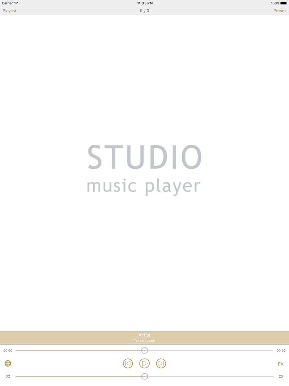 Studio Music Player | 48 bands equalizer for pro's Screenshots