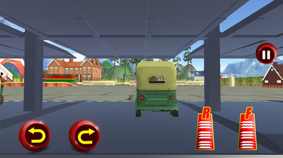 Tuk Tuk Cargo Train Transport Pro screenshot 1