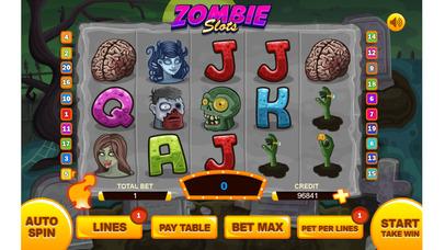 Screenshot 1 Живой мертвец Казино Игровые автоматы игры