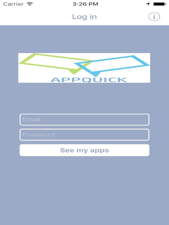 App shopper appquick previewer business Building designing app
