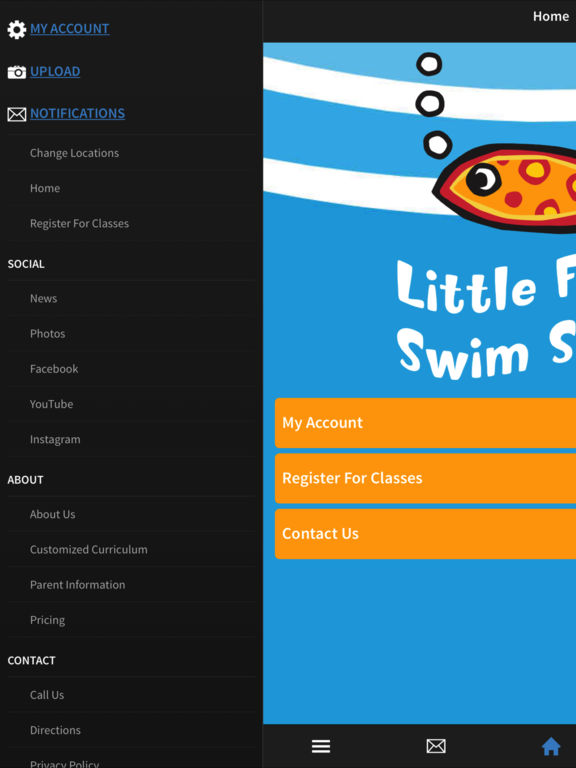 Little fishes swim school on the app store for Little fishes swim school