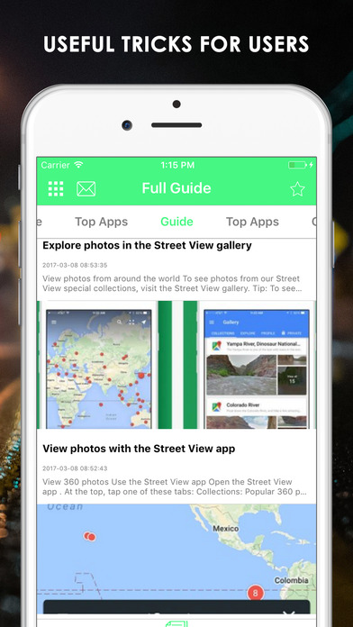how to get street view on ipad