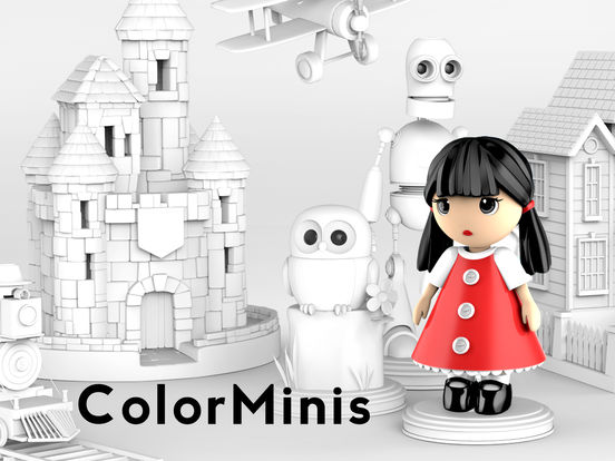 ColorMinis Kids - 3D Coloring Toy for Boys & Girls Screenshots
