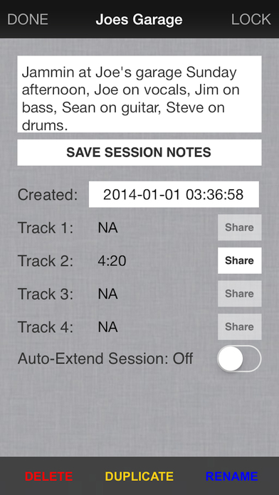 Audiostar Multitrack Recording Mixer iPhone Screenshot 3