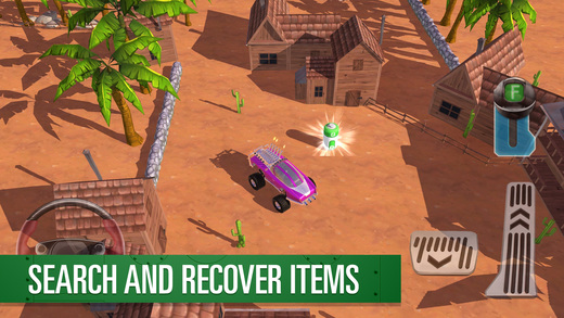 Parker's Driving Challenge Thunderbirds Are Go Screenshot