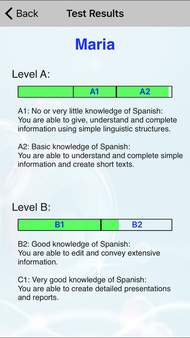 Check Your Spanish iPhone Screenshot 3