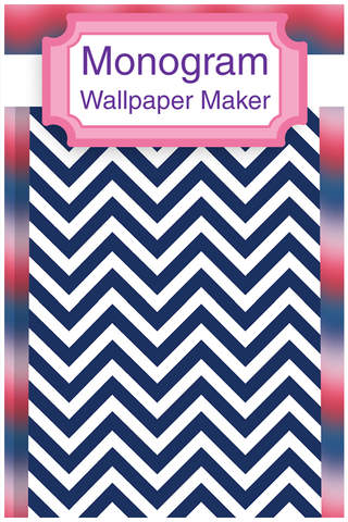 Monogram It! PRO - Wallpapers & Backgrounds Maker screenshot 1