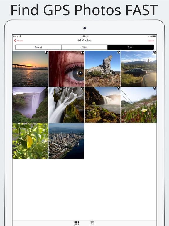 Photo Investigator: Edit, Remove GPS EXIF Metadata Screenshots